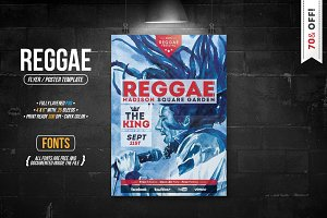 Reggae - Flyer [ 70% OFF! ]