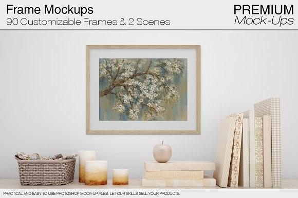Frames Product Mockups Creative Market