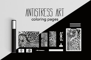 Antistress Art | Coloring pages