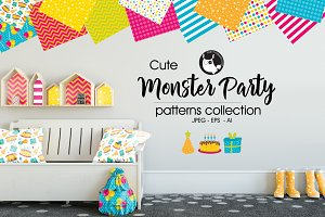 MONSTER PARTY Pattern collection