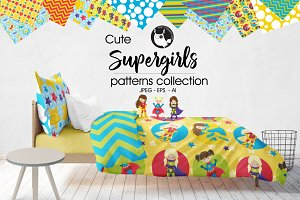 SUPERGIRLS Pattern collection