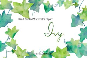 Fresh Green Ivy Clipart
