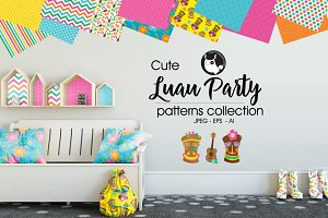 LUAU PARTY Pattern collection