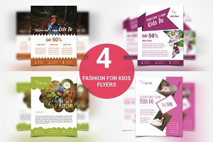 Kids Flyer - 4 Templates