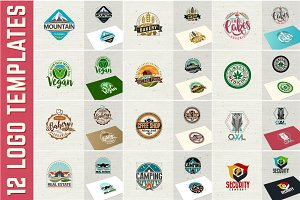 Logo symbol illustrations template