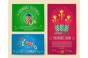 Pyrotechnics show posters