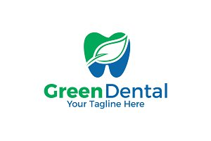 Green Dental | Logo Template