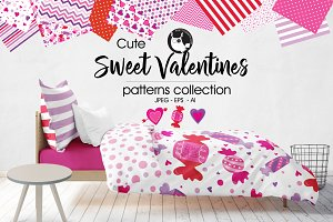 SWEET VALENTINES Pattern collection