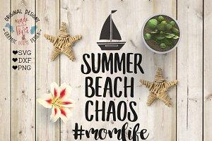 Summer Beach Chaos Momlife