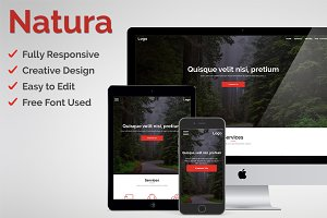 Natura - Adobe Muse Template