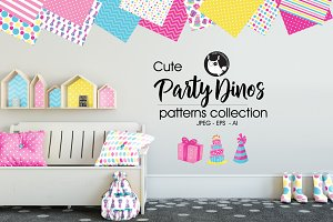 PARTY DINOS Pattern collection