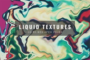10 Abstract Liquid Textures
