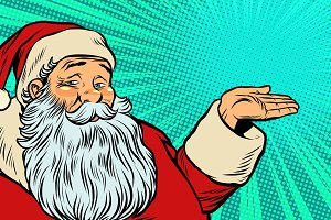 Santa Claus promoter