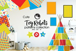 TOY ROBOTS Pattern collection