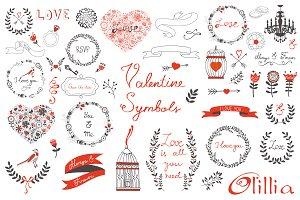 Valentine symbols