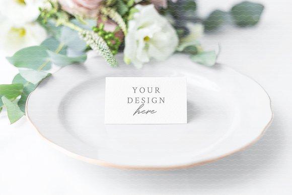 NEW Wedding Place Card Mockup