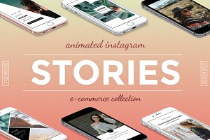 Animated E-Commerce Stories