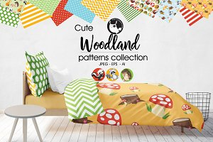 WOODLAND Pattern collection
