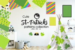 ST PATRICKS Pattern collection