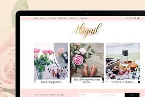 Beauty WordPress Theme - Abigail