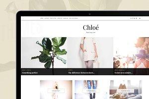 Classic WordPress Theme - Chloe