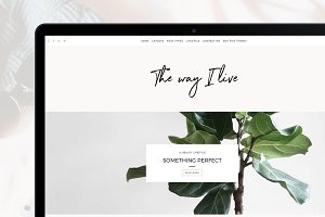 Minimal Wordpress Blog - TheWayIlive
