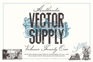 Unember Vector Supply Volume 41
