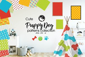 PUPPY DOG Pattern collection