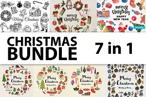 Christmas BUNDLE - 7 in 1