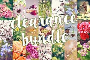 CLEARANCE! Colorful photos bundle