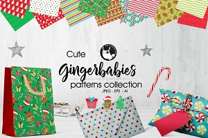 GINGERBABIES Pattern collection