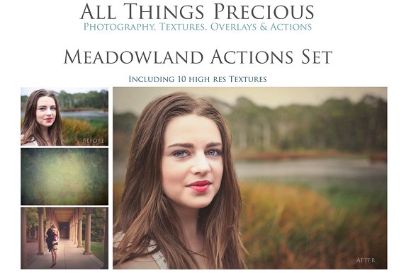 MEADOWLAND 45 Photoshop Actions