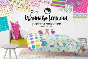 WANNABE UNICORN Pattern collection