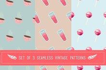 Yummy seamless pattern