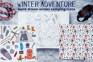 Winter Adventure | camping icon