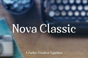 Nova Classic Stylish Display Font