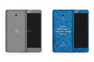Xiaomi Redmi Note 4 Vinyl Skin