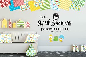 APRIL SHOWERS Pattern collection