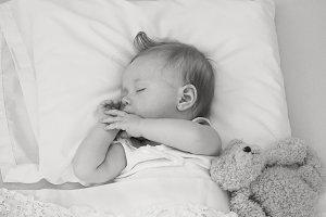 """""""Sleeping Baby"""" 1"""