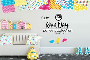 RAIN DAY Pattern collection