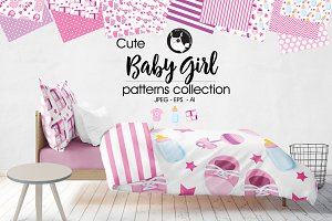 BABY GIRL Pattern collection