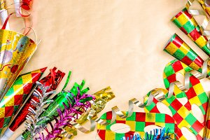 Carnival party decorations. Holidays
