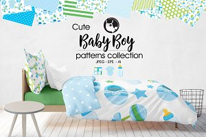 BABY BOY Pattern collection