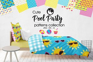 POOL PARTY Pattern collection