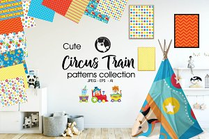 CIRCUS TRAIN Pattern collection