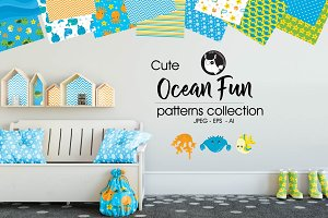 OCEAN FUN Pattern collection