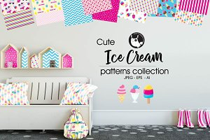 ICE CREAM Pattern collection