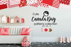 CANADA DAY Pattern collection