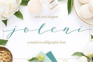 Joleni Modern Calligraphy font