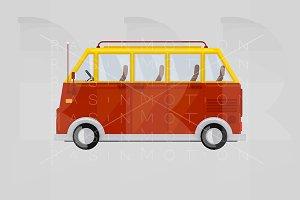 A Van. Wagon